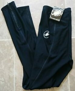 NWT Castelli Cycling Hotflex Skin Black Leggings Medium