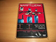KRAFTWERK - SONY CENTER - 2014 - TORONTO LIVE DVD SEALED