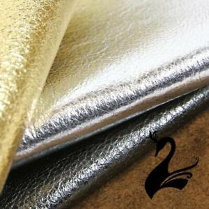 Leather Skin - Sheep Italian Soft Nappa Full-Grain (Metallic Colours) - Milli...