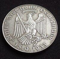 WW2 GERMAN COIN HERMANN GORING LUFTWAFFE GOTT MIT UNS DEUTSCHLAND