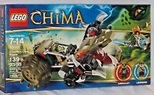 SEALED 70001 LEGO Legends of Chima CRAWLEY'S CLAW RIPPER Leonidas 139 pc RETIRED