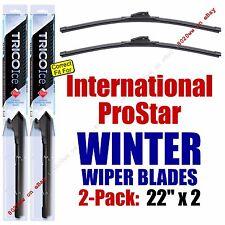 WINTER Wiper Blades 2pk Premium fit 2009-2011 International ProStar - 35220x2