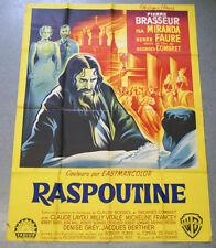 Affiche de cinéma : RASPOUTINE de Georges COMBRET - Pierre BRASSEUR