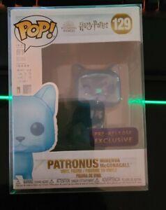 Funko Pop! Harry Potter - PATRONUS MINERVA MCGONAGALL #129 Pre-Release Exclusive