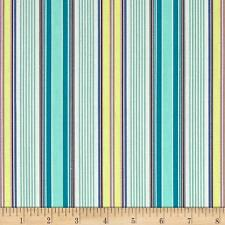 "Art Gallery - Poetica -Azure Spirited Verse Cotton Fabric - 6 yds 27""- Free Ship"