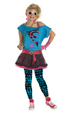 80s Valley Womens Popstar Fancy Dress Costume