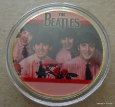 The Beatles 24KT GOLD MEMORABILIA COLLECTIBLE COIN #37se