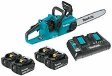 "Makita Brushless Cordless 14"" Chain Saw Kit W/Four 18V X2 (36V) LXT Lithium-Ion"