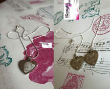 Personalised Photo/Text Engraved Heart Necklace Pendant- Wedding Birthday Gift.