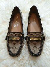 Coach Shoes Brown Logo Size US 6,5B EU 36.5