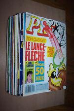 Super lot de 37 Pif Gadget n°1005 à 1041 en TBE avec deux n°spéciaux 1988/89