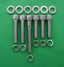 ROVER V8 - oil pump housing kit in stainless steel cap head bolts - SD1 TVR