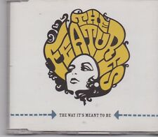 The Features-The Way Its Meant To BE Promo cd single