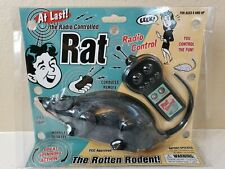 Westminster Radio Controlled Rat 2001 Sealed NOS NEW Never Opened RC prank toy