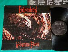 Entombed - Wolverine Blues BRAZIL 1st press LP 1994 Rock Brigade
