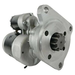 NEW Starter for Ford New Holland Tractor 2000; 2100; 2110; 2120; 2300; 230A; 231