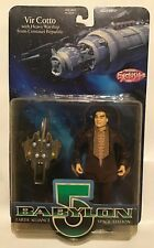 1997 Babylon 5 Vir Cotto w/Heavy Warship Wb Toy Previews Exclusive Action Figure