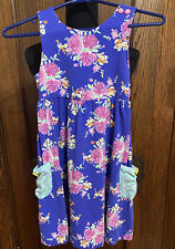 Matilda Jane Size 8 Knit Floral Sundress EUC