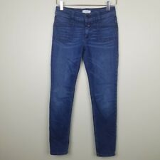 Closed Womens 24 Jeans Pedal X Skinny Dark Wash Denim Italy
