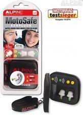 Alpine MotoSafe Moto Safe Earplugs for Motorcycle Riders Ear Plugs