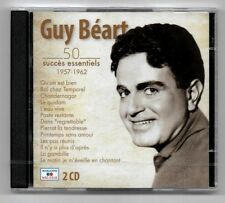 RARE 2 CD / GUY BEART - 50 SUCCES ESSENTIELS 1957-1962 (BEST OF) NEUF SOUS CELLO