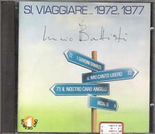 """LUCIO BATTISTI - RARO CD FUORI CATALOGO """" SI,VIAGGIARE...1972,1977 """""""