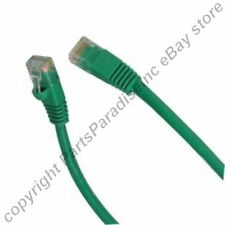 Lot100 PURE COPPER (notCCA) 2ft short RJ45 Cat5 Ethernet Cable/Cord/Wire{GREEN{F