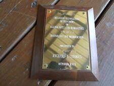 1973 Missouri Ass Of Teachers Of Allied Arts Humanities Richard E Stokes Award