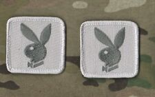 "AFG-PAK JSOC SEAL RANGER USMC FORCED RECON hook/loop 2"" TAB: Playboy Bunny b"