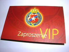 used ticket WISLA Krakow - STANDARD Liege 16.02.2012 VIP Inv.