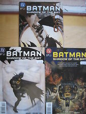 """BATMAN Legends of the Dark Knight #s 50,51,52 """"TRILLOGY"""" COMPLETE 3 PART STORY"""