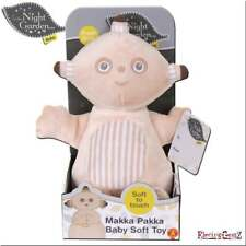 In the Night Garden Baby Makka Pakka Soft Plush Toy - Textures Rattle & Squeaker