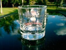 """THE FAMOUS GROUSE  WHISKEY GLASS 3.75 """" WHIRLPOOL"""" BOTTOM WITH WATER..."""