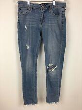 Lucky Brand Jeans Mid Rise LOLITA CAPRI AZTEC 7W13494   27 31 NWT