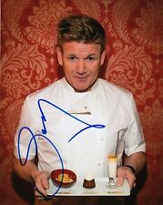 Gordon Ramsay Autographed 8x10 Photograph Master Chef Hotel Hell Nightmares COA