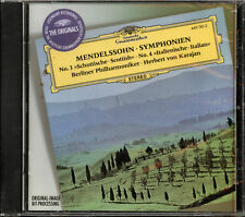 Mendelssohn: Symphonies, Nos. 3 & 4 (CD, Mar-1997, Deutsche Grammophon) *Sealed*