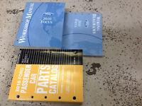 2010 FORD FOCUS Service Repair Shop Workshop Manual Set W EWD + Parts Book OEM