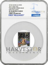 2017 STAR WARS THE EMPIRE STRIKES BACK POSTER COIN - NGC PF70 FIRST RELEASES