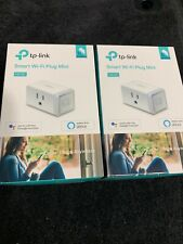 ☆☆Brand New Factory Sealed☆☆ 2 Pack Tp-Link Smart Wi-Fi Plug Mini Hs105 Ver. 2.0