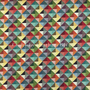 New World Tapestry Luxury Weight Cotton Rich Fabric 1.4m wide Little Holland