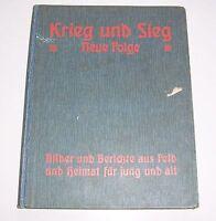 Krieg & Sieg Neue Folge Beilage Jugendkalender Ernst Thiene 1916 IWW Kinderbuch