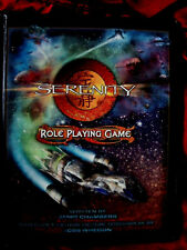SERENITY ROLE PLAYING GAME. Firefly Joss Whedon. *VERY RARE* RPG OOP