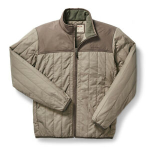 Filson Ultra Light Quilted Jacket Rustic Tan - NEW!
