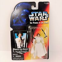 VTG Star Wars Power of the Force Princess Leia Action Figure 1995 Kenner Red