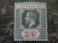 FIJI POSTAGE & REVENUE STAMP SG135 2/6D LIGHTLY MOUNTED MINT