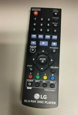 New Replacement Remote Control AKB75135401 for LG DVD Blu-Ray Player.
