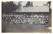 British Army Soldiers in Khaki Uniforms & Pith Helmets c1930 RP Postcard, Unused