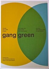 Gang Green - Live at Turner's - Mini-Concert Poster - 10x14
