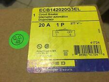NEW IN BOX SQUARE-D SCHNEIDER ECB142020G3EL POWERLINK CIR/ BREAKER 20A 480/277V