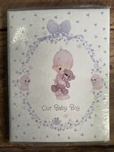 Precious Moments Photo Album Picture Frame - Our Baby Boy - New